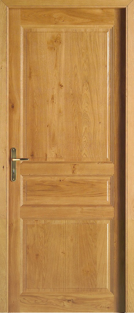 Porte d 39 interieur var ligne intemporelle modele orchidee for Porte interieur bois